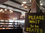 USA - Wait to be seated